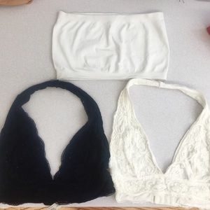 Bundle of 2 UO bralettes and 1 bandeau 💖